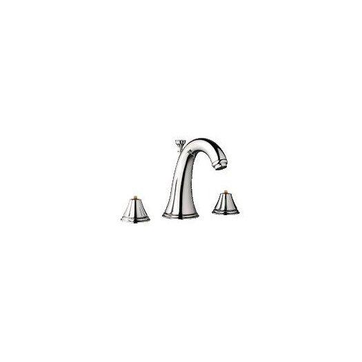 Grohe Geneva Widespread Bathroom Faucet less Handles