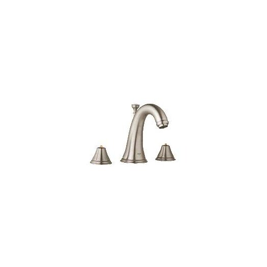 Grohe Geneva Widespread Bathroom Faucet less Handles