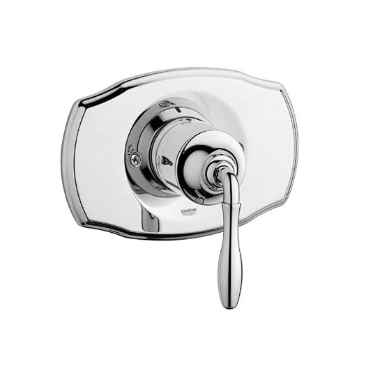 Grohe Seabury Pressure Balance Shower Faucet Trim Only with Lever Handle