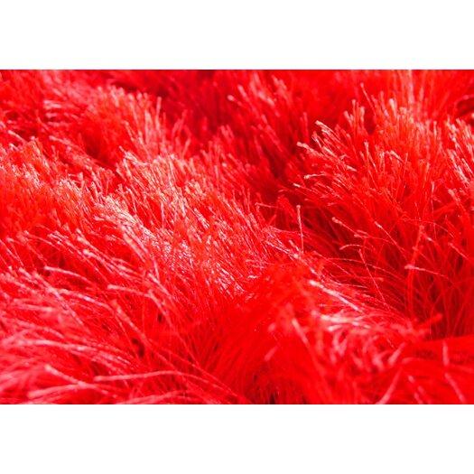 YumanMod Melange Red Rug