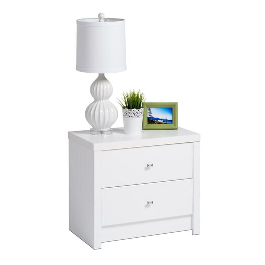 Prepac Calla 2 Drawer Nightstand