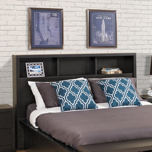 Prepac District Bookcase Headboard