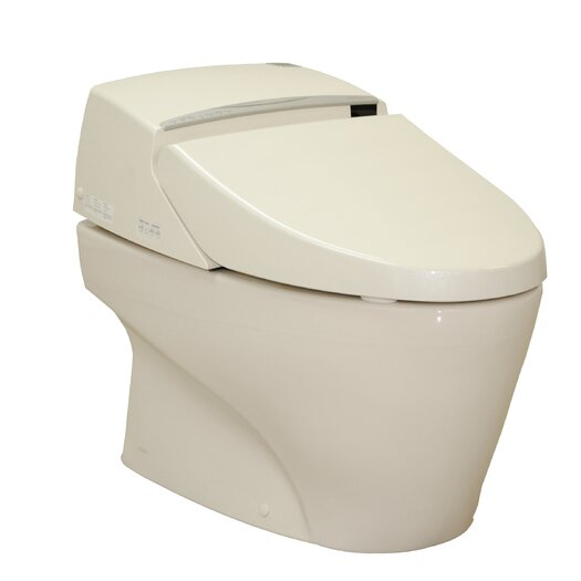Toto Neorest Elongated 1 Piece Toilet and Washlet Unit with SanaGloss