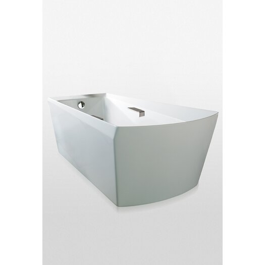 "Toto Soiree 72"" x 40"" Bathtub for Free Standing Installation"