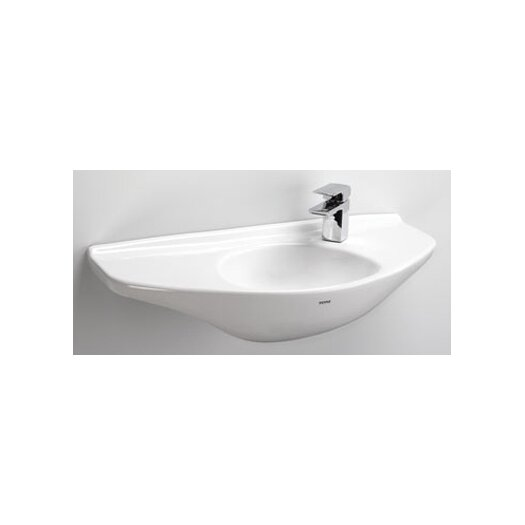 Toto Wall Mount Bathroom Sink with SanaGloss Glazing