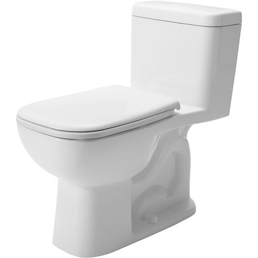 Duravit D-Code 1.28 GPF Elongated 1 Piece Toilet