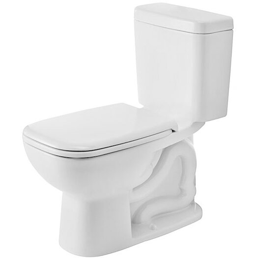 Duravit D-Code Elongated Toilet Bowl