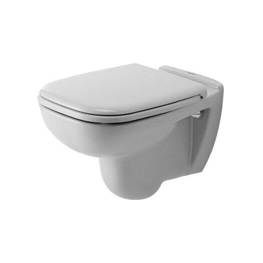 Duravit D-Code Wall Mounted Washdown Round 1 Piece Toilet