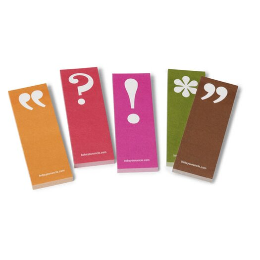 Bob's Your Uncle Punctuation Page Markers