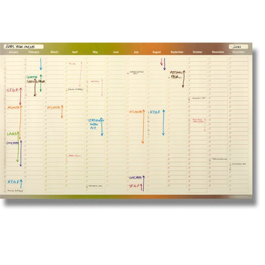 Bob's Your Uncle Four Seasons Wall Planner