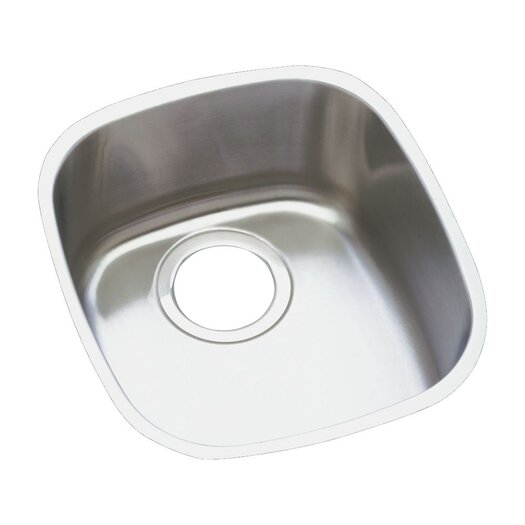 "Elkay 14.5"" x 15.75"" Undermount Single Bowl Kitchen Sink"