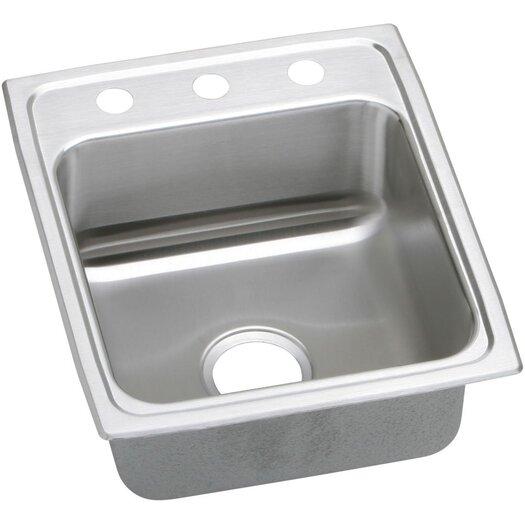 "Elkay Lustertone 17"" x 20"" Kitchen Sink"