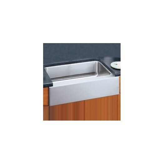 "Elkay 33"" x 20.5"" Undermount Single Bowl Kitchen Sink with Apron"