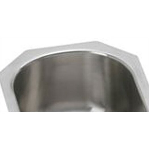 "Elkay Gourmet 14"" x 17.5"" Single Bowl Kitchen Sink"