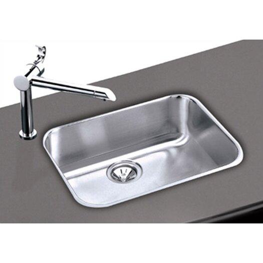 "Elkay Elumina Gourmet 23.5"" x 18.25"" 18 Gauge Single Bowl Kitchen Sink"