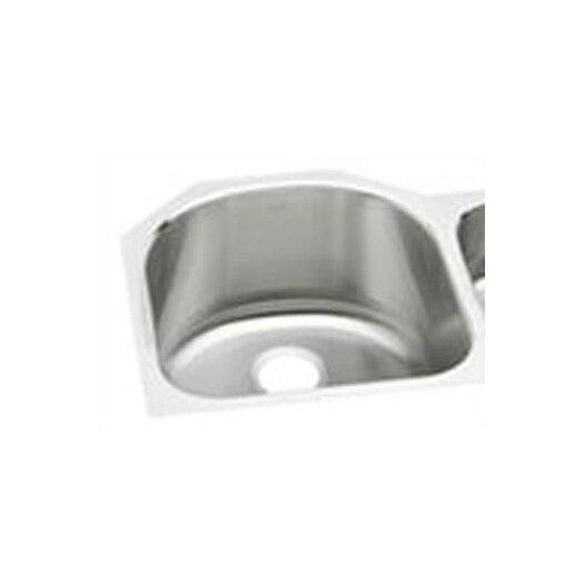 """Elkay Lustertone 26.75"""" x 20"""" Deep Multi-Sized Double Bowl Kitchen Sink"""