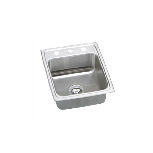 "Elkay Lustertone 17"" x 20"" Kitchen Sink"