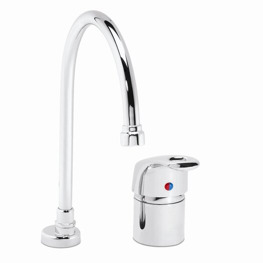 Speakman One Handle Widespread Kitchen Faucet with Deep Gooseneck