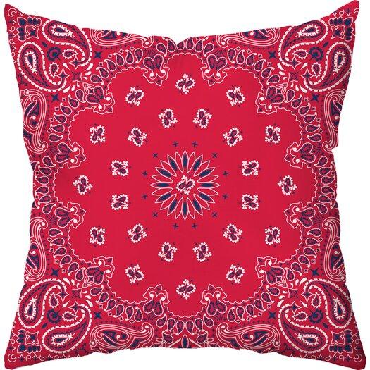 Checkerboard, Ltd Cowboy Throw Pillow