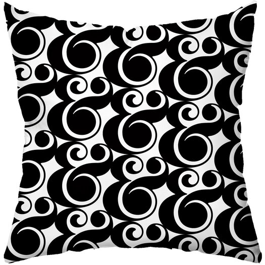 Checkerboard, Ltd Me and You Poly Cotton Throw Pillow