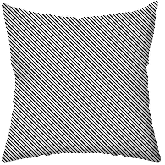 Checkerboard, Ltd Personalized Electron Polyester Throw Pillow