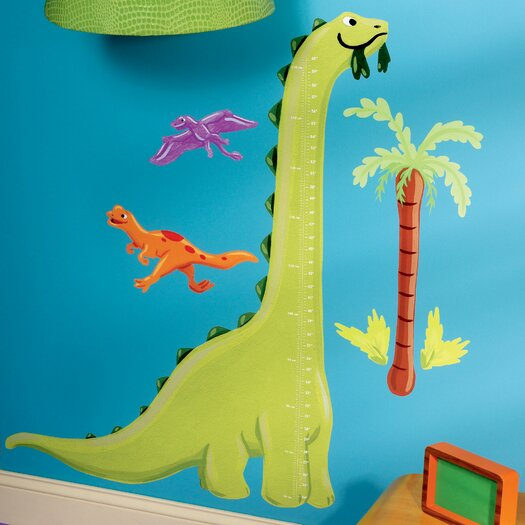 Wallies Wall Play Dino Growth Chart