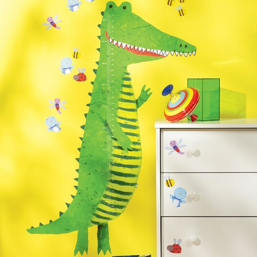 Wall Play Crocodile Growth Chart