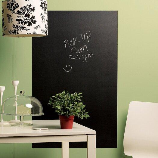 Wallies Big Chalkboard Mural Vinyl Peel & Stick