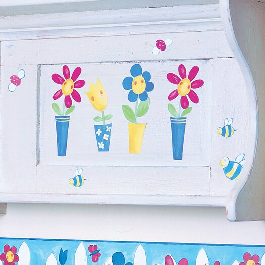 Silly Flower Pots Wallpaper Cutouts