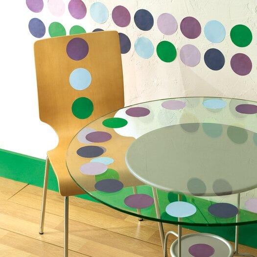 Wallies Polka Dots Wallpaper Cutouts