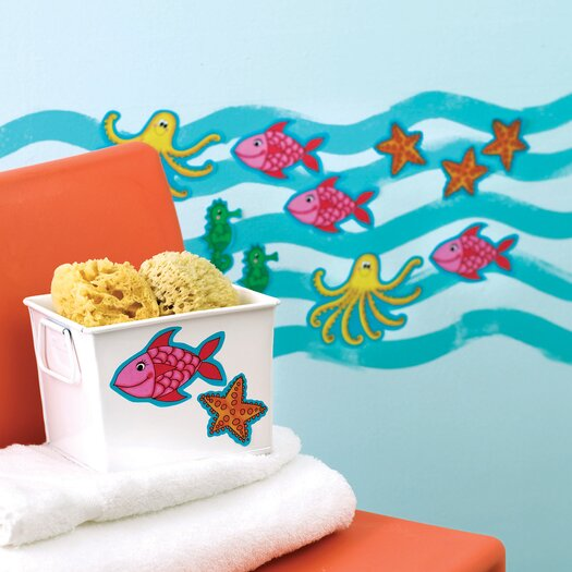 Wallies KP Kids Sea Creatures Wallpaper Cutouts