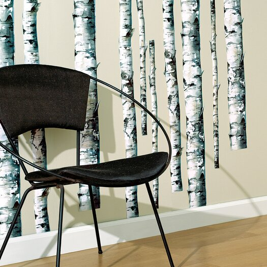 Birch Trees Wallpaper Mural