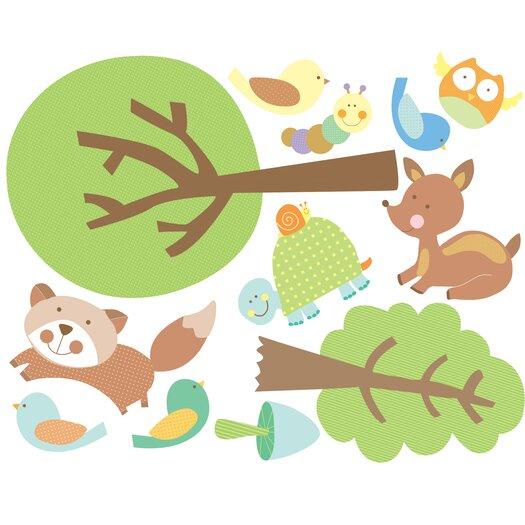 Wallies Animal Tales Wall Stickers