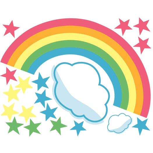 Wallies Rainbow Room Wall Stickers