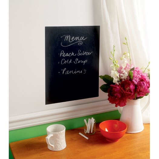 Wallies Peel & Stick Chalkboard Wall Decal