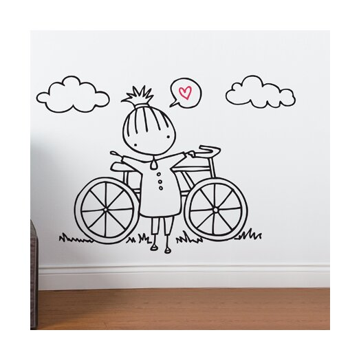 Piccolo a Fine Day For a Ride Wall Decal