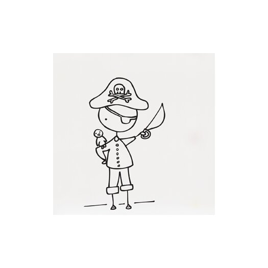 Piccolo Ahoy, Mates! Wall Decal