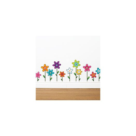 ADZif Ludo Wild Flowers Wall Decal
