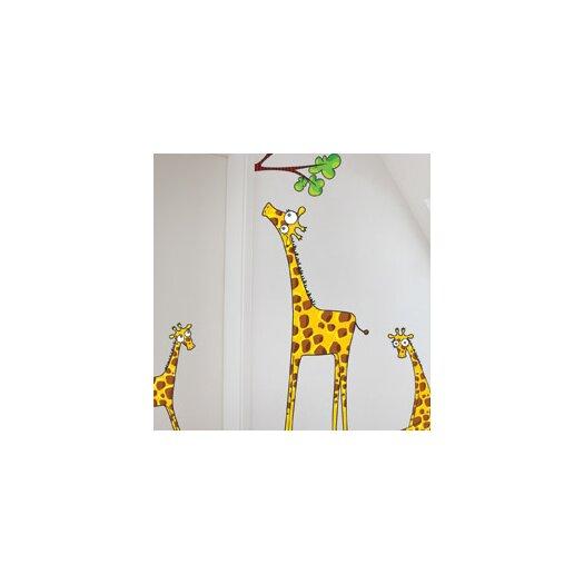 ADZif Ludo Madam Giraffe Wall Decal