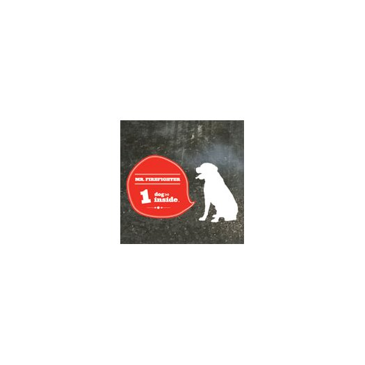 ADZif Signal Dog(s) Inside Window Sticker