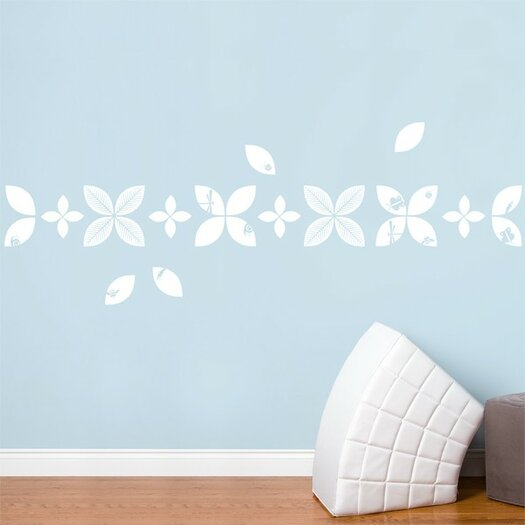 ADZif Baby Leaves Wall Decal
