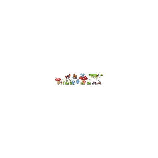 ADZif Ludo Mice and Ladybugs Wall Decal