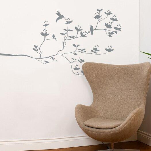 ADZif Spot Birds and Buds Wall Decal