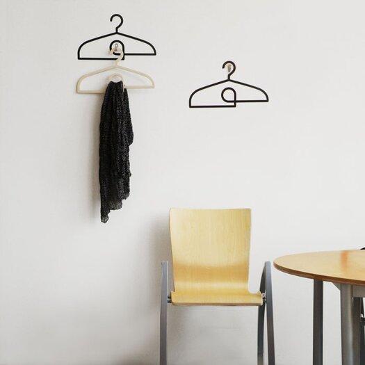 ADZif Spot Hangers Wall Sticker