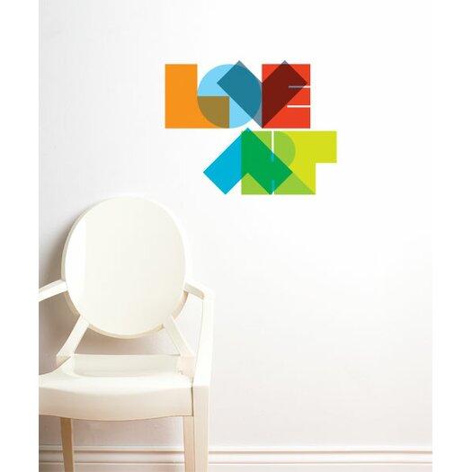 ADZif BlaBla Love Art Wall Decal