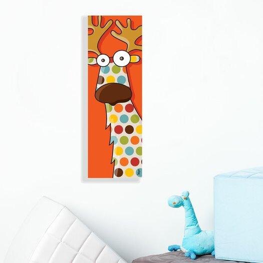 ADZif Canvas Reindeer Wall Decal