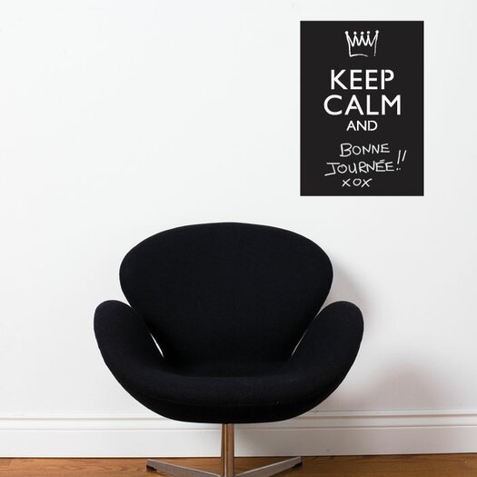 ADZif Memo Keep Calm and...(Chalkboard) Wall Sticker