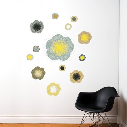 ADZif Spot Solstice Flowers Wall Decal