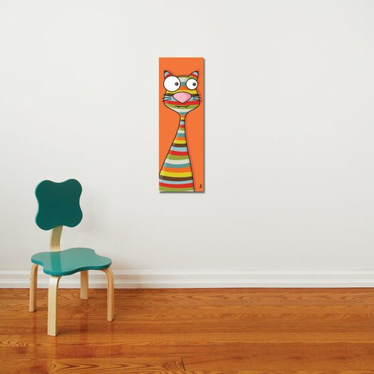 ADZif Canvas Cat Wall Decal