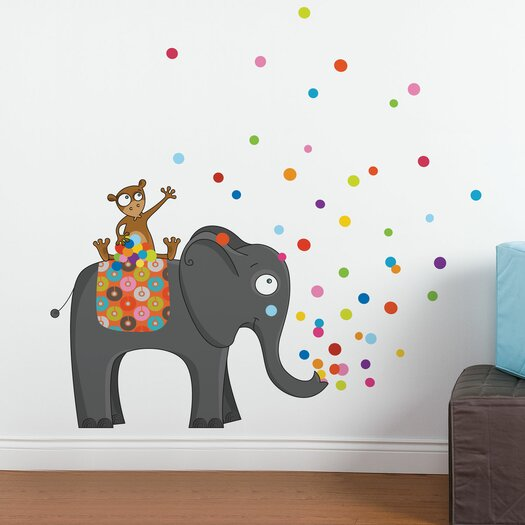 ADZif Ludo Party Time Wall Decal